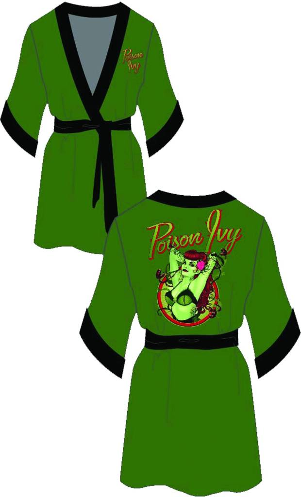 Poison Ivy Green Robe