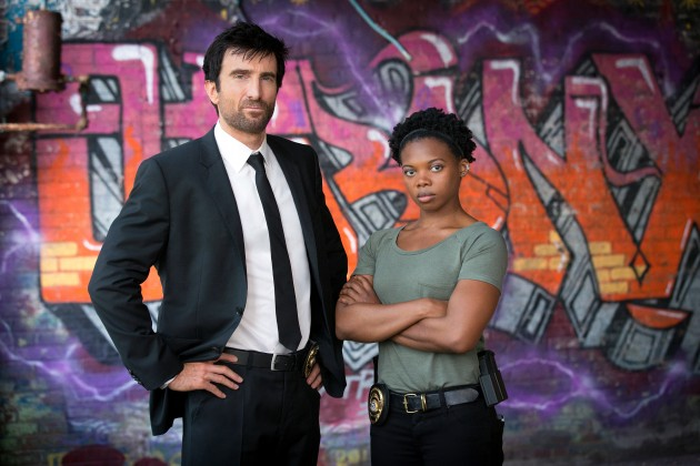 Powers stars Sharlto Copley as Christian Walker and Susan Heyward as Deena Pilgrim