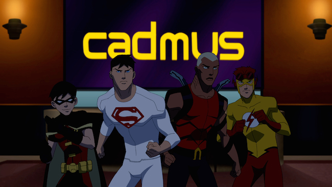 The boys of Young Justice