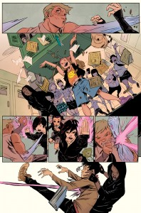 Runaways #1 preview page