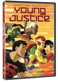 Young Justice Season 1 Volume 1 cover