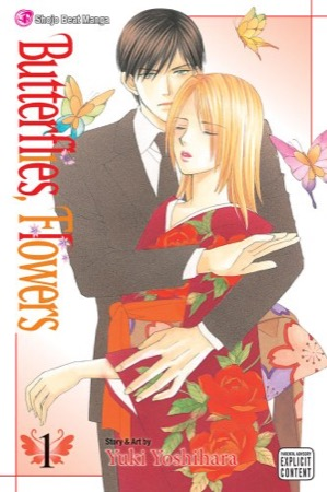 Butterflies, Flowers volume 1 cover