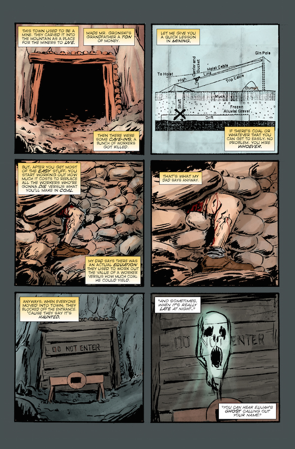 Elk's Run sample page 3