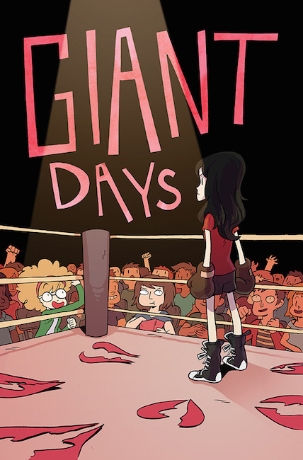 Giant Days #1 variant cover by Meredith Gran