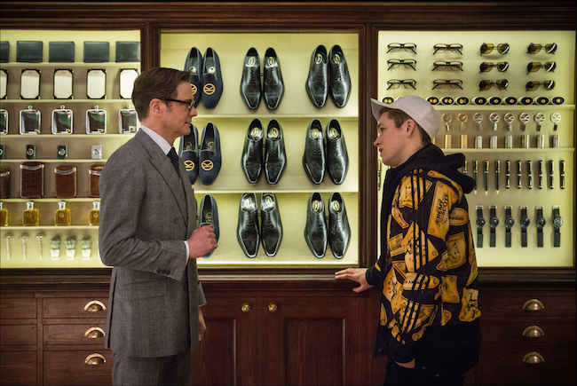Kingsman: The Secret Service and the gear