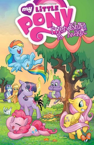 My Little Pony: Friendship Is Magic book 1 cover