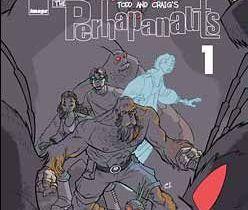 The Perhapanauts #1 cover