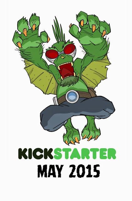 Perhapanauts Kickstarter promo