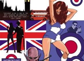 Resident Alien: The Sam Hain Mystery #1 cover