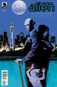 Resident Alien: The Suicide Blonde #2 cover