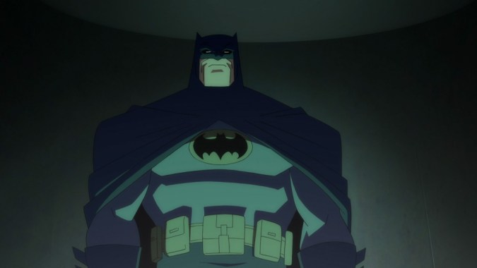 Batman from Dark Knight Returns Part 1
