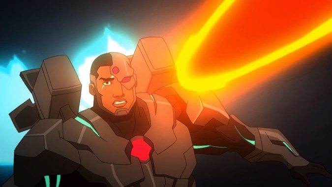 Cyborg in Justice League: War
