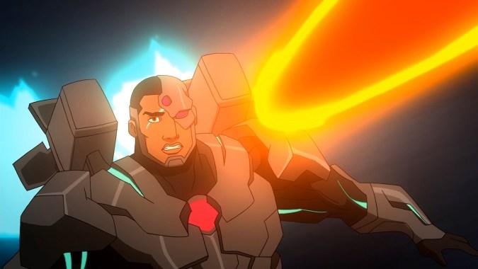 Cyborg in Justice League: War