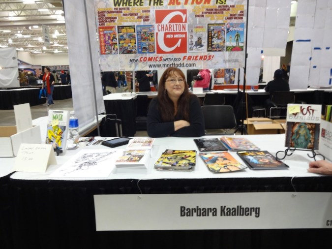Barbara Kaalberg at Wizard World Madison 2015
