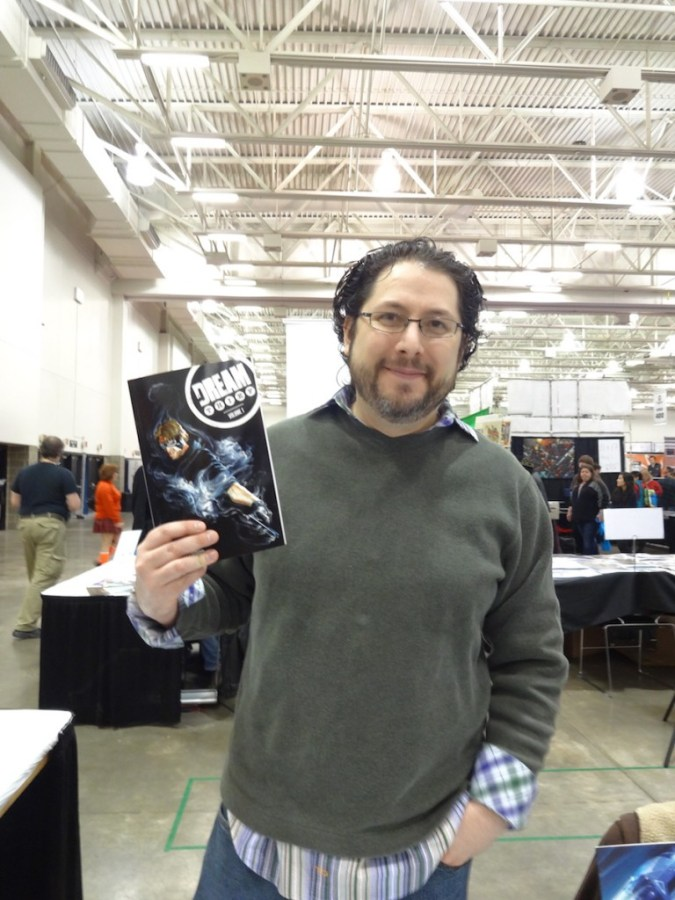 Jai Nitz at Wizard World Madison 2015