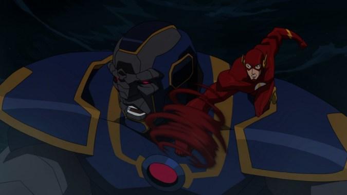 Flash in Justice League: War