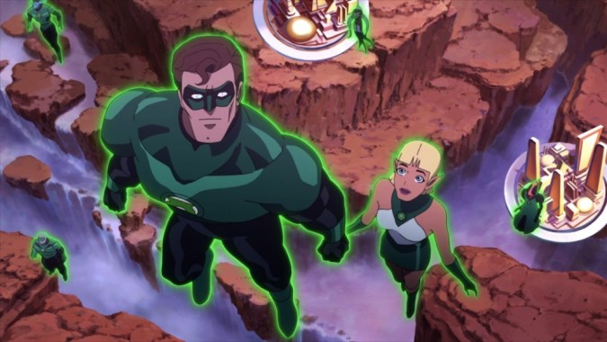 Green Lantern Emerald Knights image