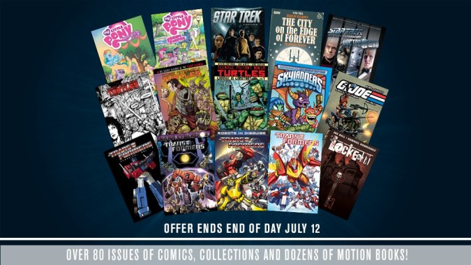 IDW app free comics