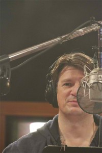 Photo of Nathan Fillion by Gary Miereanu