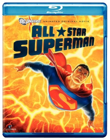 All-Star Superman (Blu-ray) cover