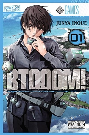 BTOOOM! volume 1 cover