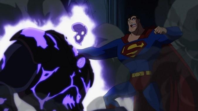 Superman vs. the Atomic Skull in Superman vs. the Elite