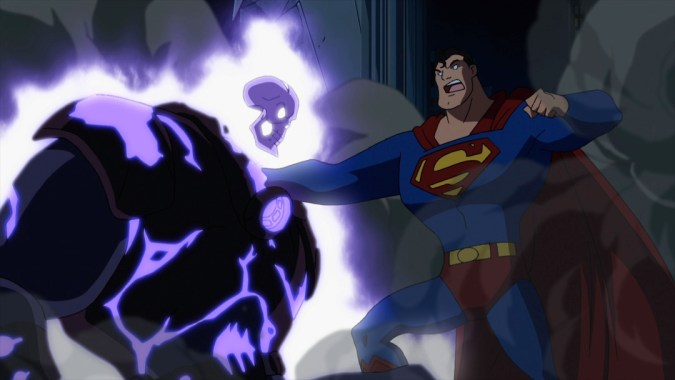 Superman vs. the Atomic Skull in Superman vs. the Elite