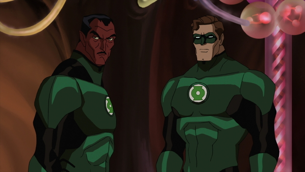 Sinestro and GL