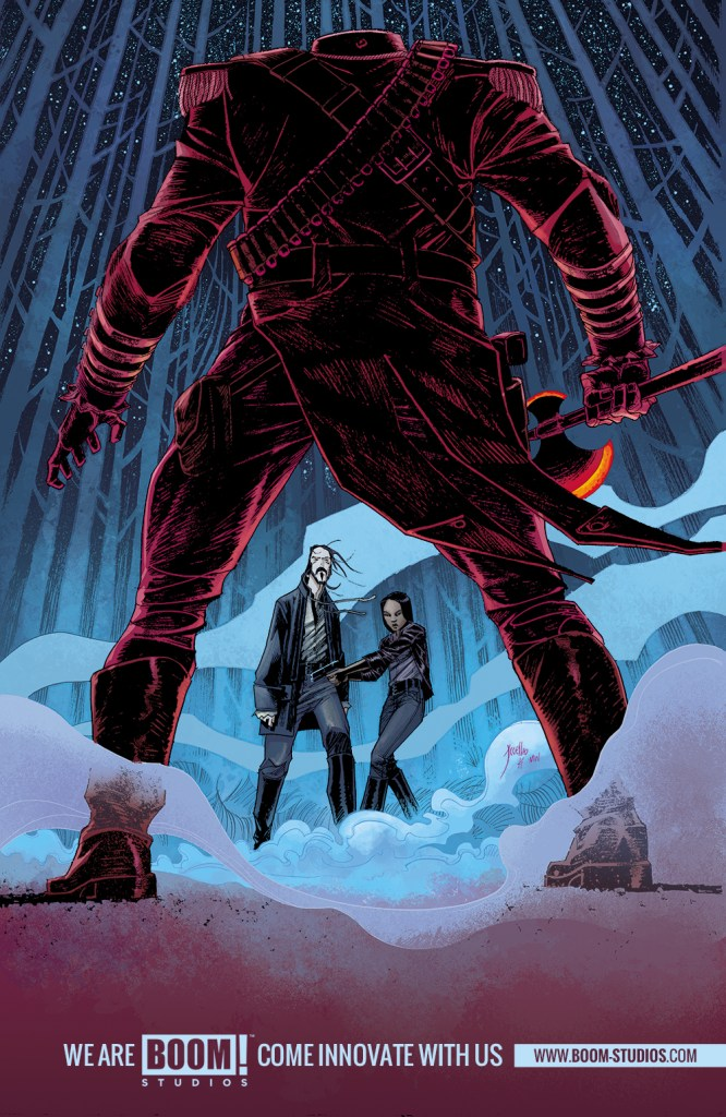 Sleepy Hollow #1 variant cover by Jorge Coelho