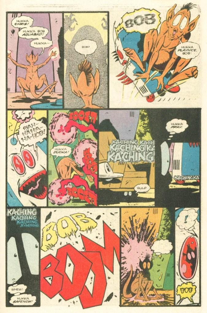 Atari Force #20 Hukka vs. the Bob page 5