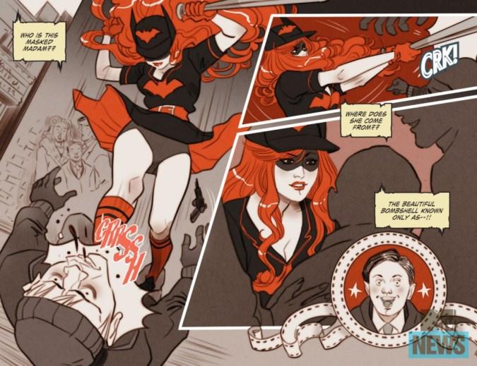 DC Bombshells Batwoman 1