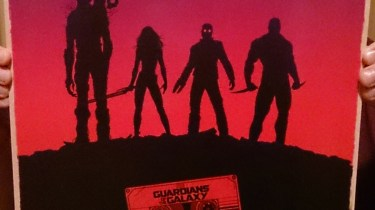 Guardians of the Galaxy Imax poster