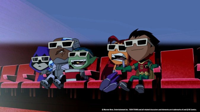 Teen Titans at the movies