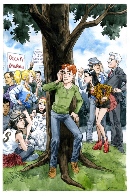 Archie cover by Jill Thompson