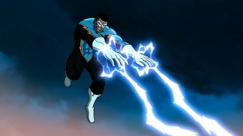 Black Lightning, played by LeVar Burton