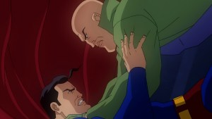 Superman faces off with Luthor