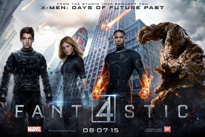 Fantastic Four character posters