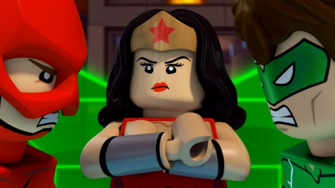 Lego DC Comics Super Heroes: Justice League: Attack of the Legion of Doom Wonder Woman GL and Flash