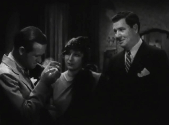 Chick, Ruby (Judith Anderson), and Bill in Blood Money