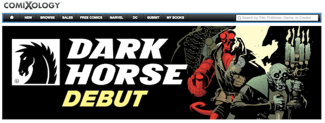 Dark Horse debuts on ComiXology