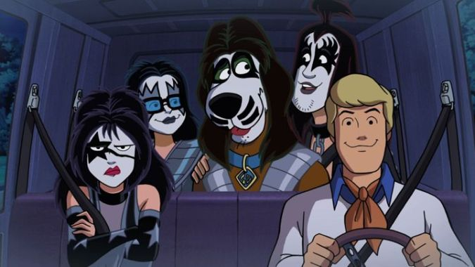Scooby-Doo! and KISS: Scooby gang in makeup