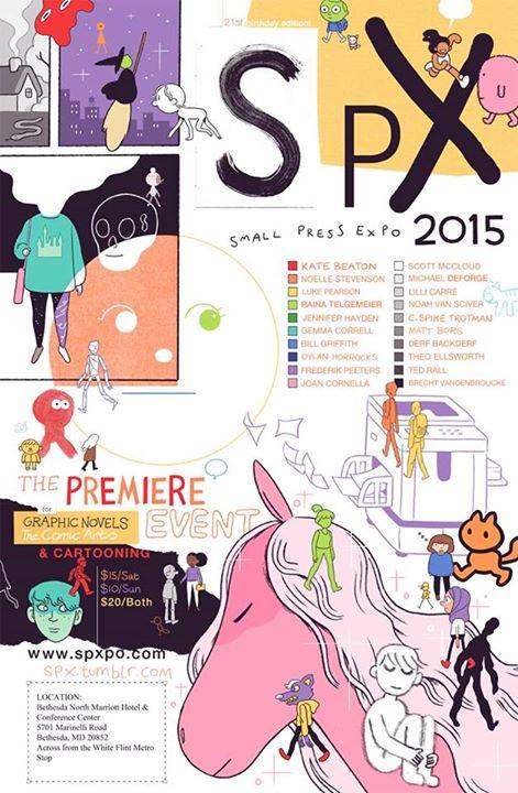 SPX 2015 poster by Luke Pearson