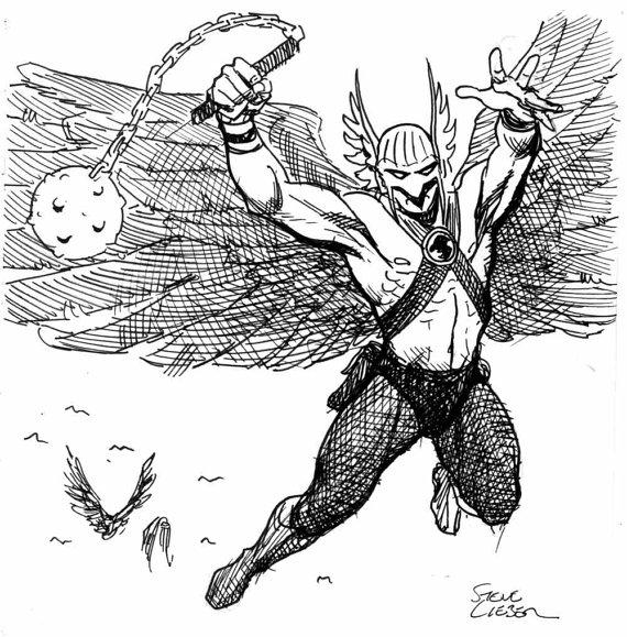 Hawkman by Steve Lieber