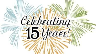 Celebrating 15 years