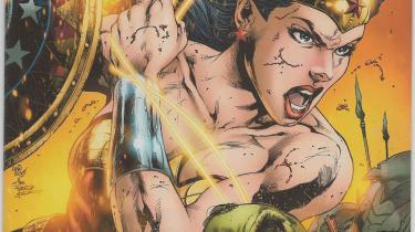 Sensation Comics #3 cover by Joe Prado and Ivan Reis