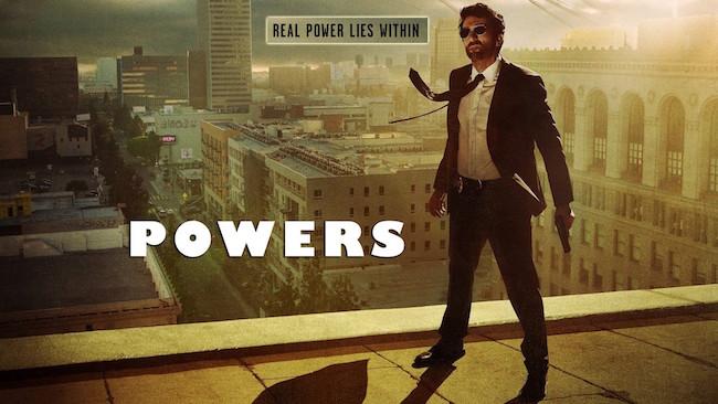 Powers promo art