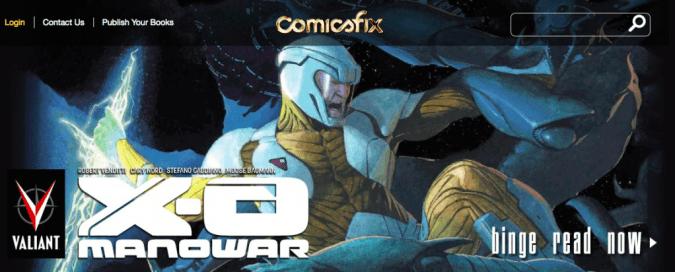 X-O Manowar on Comicsfix