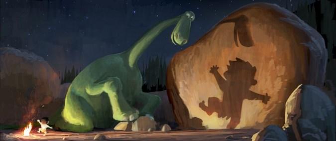 The Good Dinosaur concept art