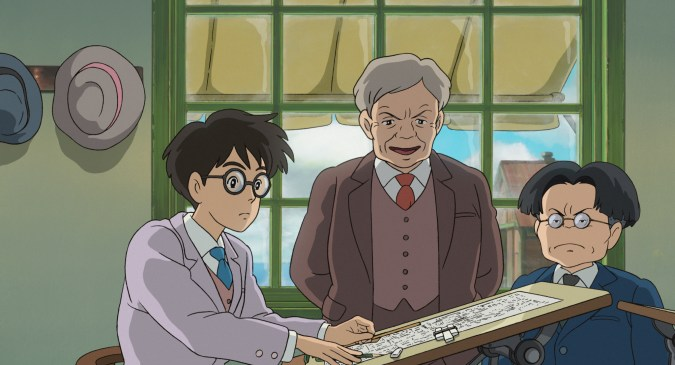Image from The Wind Rises