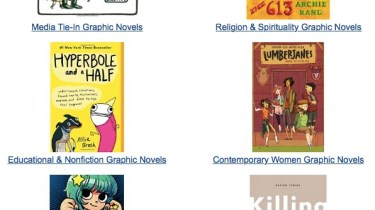 Amazon graphic novel email